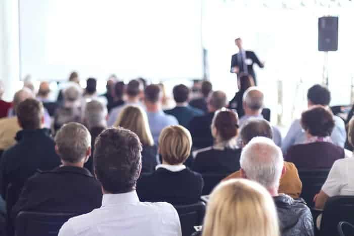 Vortrag in der Bau- und Immobilienbranche